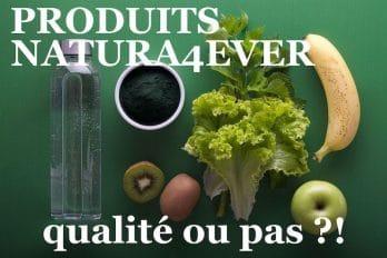 Avis produits Natura4ever : qualité ou pas ?! (Naturablue)