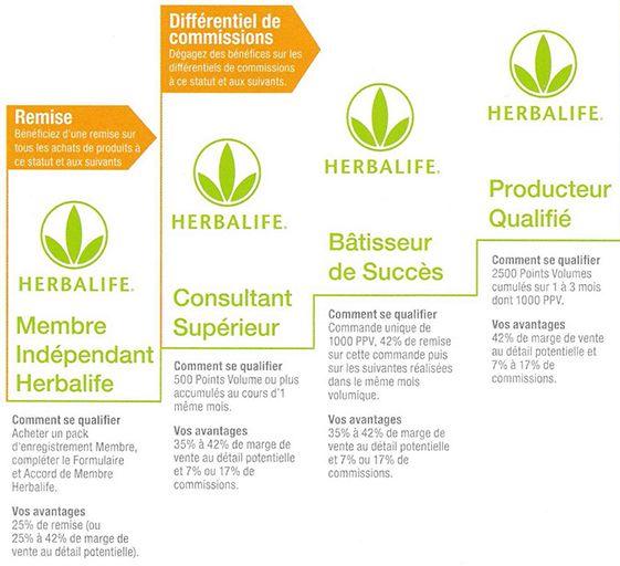 plan rémunération herbalife