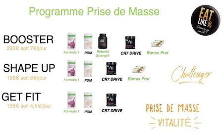 programme produits Herbalife