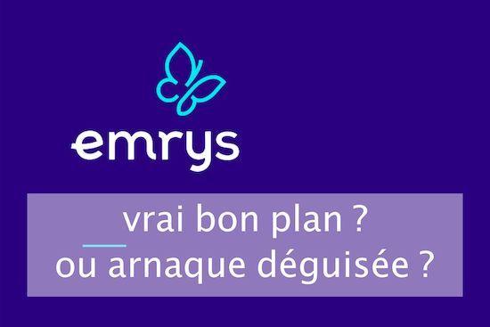 Avis complet EMRYS La Carte 2020 : arnaque ou vrai bon plan ?